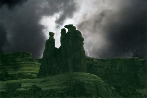 Three Sisters Speak From Above by fax-celestis