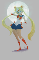 Sailor Moon by fooshigi