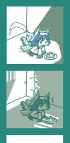 Lonely Neko KAITO Part 2 by KikuP