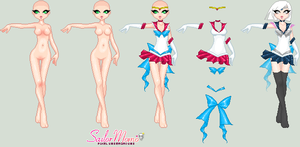 Sailor Momo Base by leviathen
