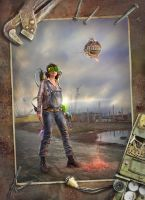 Wasteland engineer Fallout 3 by inSOLense