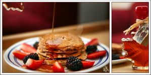Cinnamon Oatmeal Pancakes by ieatSTARS