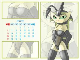 Vexus April Calender by XJKenny