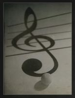 a Treble Clef by erlebnis