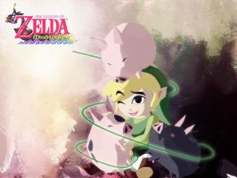 Zelda Windwaker Wallpaper by ElvenRavenWolf