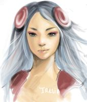 Irelia portrait by acorns