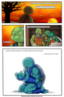 Mind Of A Leader Page 1 (IDW TMNT Fan-comic!) by PowderAkaCaseyJones