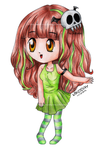 April Chibi by Nikoday