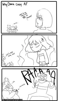 Why Chara crazy af by MakuiChi