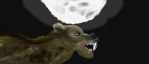 Sabor Tooth under the moon by ReaverPan