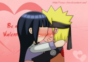 NaruHina - Be my Valentine by Wings-chan