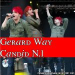 Gerard Way Candid #1. by MrsHendersonWay
