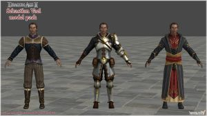 Dragon Age II: Sebastian Vael Model Pack by Berserker79