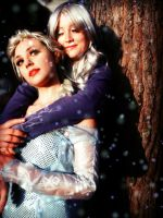 Elsa and Jack Frost (Female) by MiracleVivi
