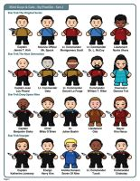 Mini-Guys And Gals Clipart Set 2 by PixelOz