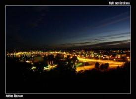 Night over Karlskrona by peax