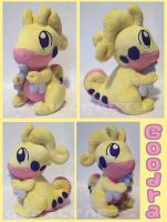 Shiny Goodra Plush by GearCraft