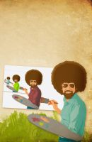 Boundless Bob Ross by TheCharles