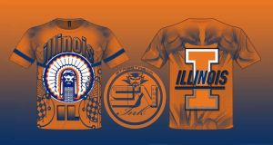 illinois fighting illini by StreetWearinc