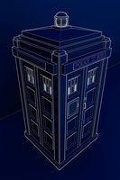 Edgy TARDIS by TheBigDaveC