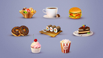Tasty PSD Icons by webdesigngeek