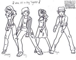 We're all in this Together by TroyGabsShayRyanHSM
