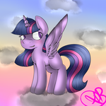 Twilight Sparkle *plus speed paint* by Xorathebunny