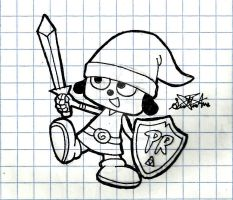 Parappa is a Hylian by VOLTAREVILGIRL