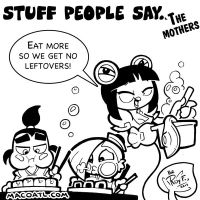 Stuff people say 98 by FlintofMother3