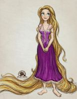 Rapunzel by enigmawing