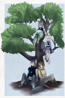 Family Time by Drakon-the-Demon
