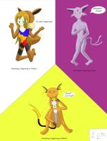 Living Pokemon Costume's by Lady-of-Mud