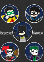 NANANANANANA BATMAN by CuddlyCapes