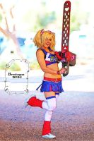 Jessica nigri lollipop chainsaw color 2 by broshojun