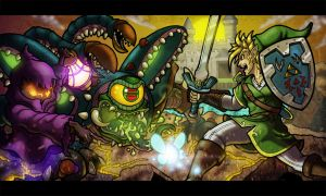 Legend of Zelda OOT by anubis2kx