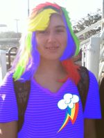 Me as Rainbow Dash by Nintendo-Lover-Kat