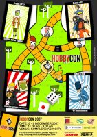 hobbycon poster by rob-jr