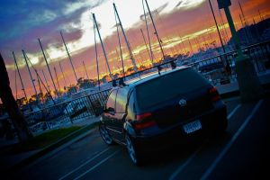 Volkswagen at the Harbor by 1mperfecti0n