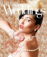 Chloe Magazine wedding cover by DmajicPhotography