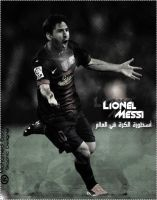 New Edit .. Messi by MohamedEssawyDesign