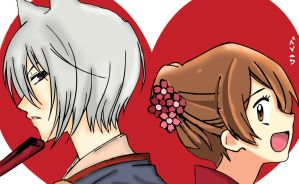 Nanami x Tomoe LOVE by be-nice