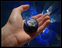 Hand of God by Darthpickle