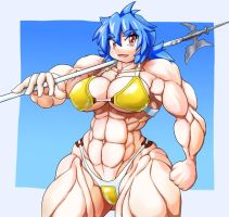 Muscle Fighter by mocoack
