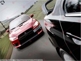 Vector Lancer Evolution X by MauricioMassami