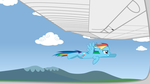 Flying With Dash by IFollowRoads