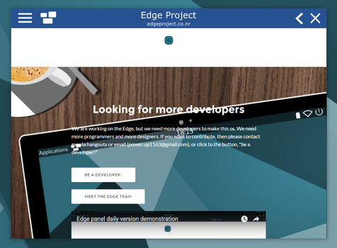New browser mockup by powerup1163