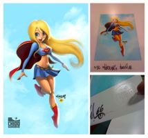 TNT Supergirl Print by renecordova