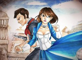 Bioshock Infinite by Pandablubb