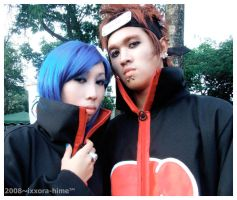 Pain X Konan Cosplay by ixxora