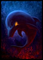 Demon Dolphin by DolphyDolphiana